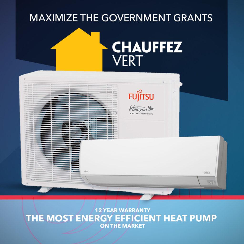 Promotion : Fujitsu - Chauffez vert